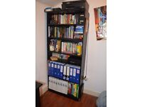 """Argos """"Maine Tall and Wide Extra Deep Bookcase"""" in Black Ash"""