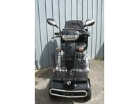 New 8mph rascal mobility scooter with suspension and puncture proof tyres - 2 year warranty