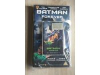 New Batman Forever 1995 VHS video / cassette