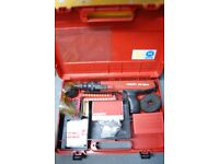 HILTI Nail-gun with carry case and other accessories