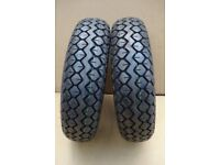 400 x 5 (330 x 100) black tyre - tyres for mobility scooter (Cheng Shin)
