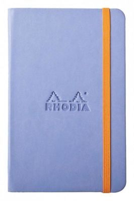 Rhodia Rhodiarama Webbies - Notebook - Iris - Blank - 3.5 X 5.5 - New R118629