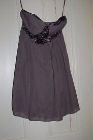 New Grey Dress size 8