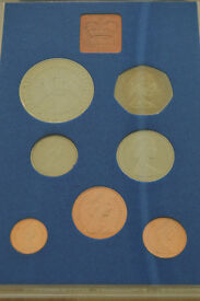 Coin sets for sale. Royal Mint sets in information card wallets - Uncirculated.