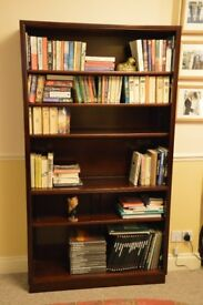 Bookcase in rosewood