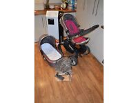 iCandy Peach 2 Berry Bon Bon Pushchair Stroller with Carrycot