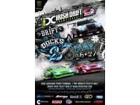 2x IDC drift on the docks tickets (weekend grandstand)