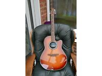OVATION CELEBRITY CS157. SOLID SPRUCE TOP. ELECTRO ACOUSTIC GUITAR . POST TO UK MAINLAND