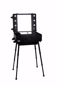 Malette ou valise sur roulette de maquillage Éclairage 110 V