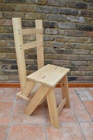 Chair Step Ladder (Library Chair Style) for sale