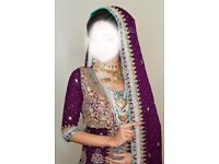 Pakistani/ Indian bridal wear clothing wedding dress
