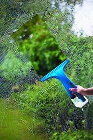 Cordless Window Vac for streak-free windows all year round
