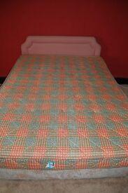 Divan - mattress and headboard