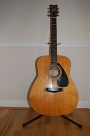Yamaha FG 411 Acoustic Guitar Excellent Condition + Accessories