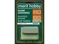 Merit Hobby OO/HO Gauge Railway Accessories - 5054 Accurately Detailed Hand Finished Asbestos Sheets