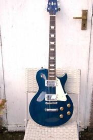 ARIA PRO II LP STYLE GUITAR WITH AMP