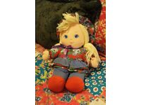 Vintage 1993 Troys Toys Soft Toy Doll