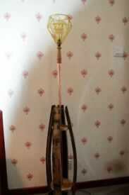 BARREL STAVE STANDARD LAMP