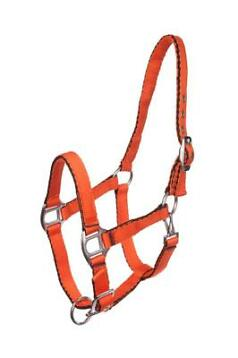 MHS Soft Nylon Halster Oranje Mini