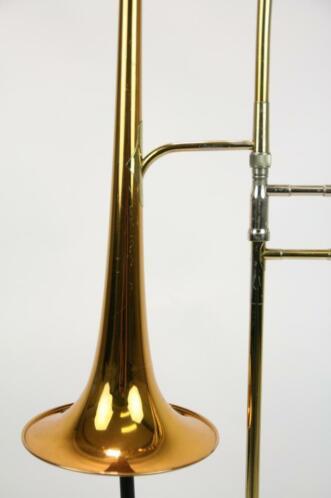 ≥ Trombone Bb King 4B 2104 large bore - Blaasinstrumenten
