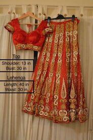 Brand new Indian Wedding Lehenga *QUICK SALE*