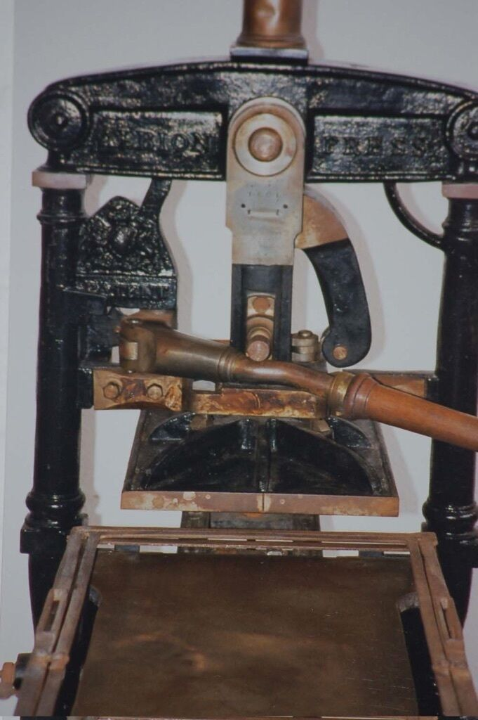 Albion Printing Press For Sale In Potters Bar