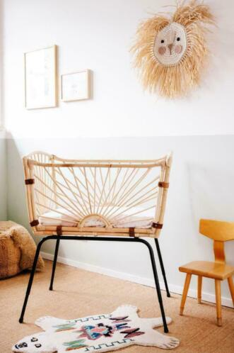 Bohemian Baby - Rotan Co-sleeper - Huur of Koop