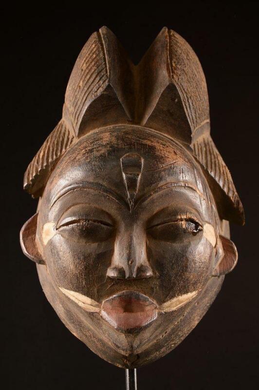 4332  An Old African Punu Mask Gabon