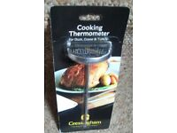 Gressingham Cooking Thermometer for Duck, Goose & Turkey with Book - New