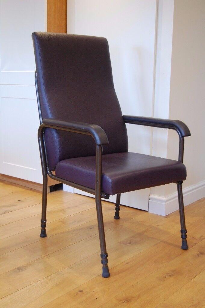 High back orthopaedic chair
