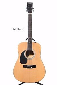 Free delivery Left handed Acoustic Guitar 41 inch Natural iMLH275