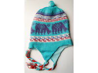 Alpaca Hats; Vivid colours made naturally in Peru