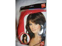 Pop Starlet Fancy Dress Wig (Cheryl style) Brand new, never worn
