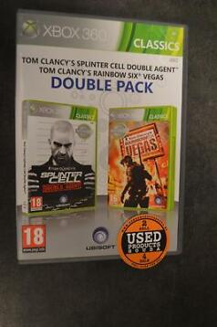 Xbox 360 game Splinter Cell Double Agent & Rainbow Six Vegas