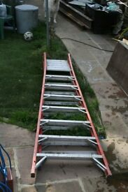 youngman step ladder and platform