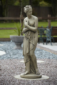 LARGE PANDORA STONE GARDEN STATUE ORNAMENT VERY LARGE