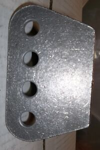 """1/4"""" THICK H/D 4 HOLE MOUNTING PLATE, SHOCKS, TRAC ARMS, 4 LINK, Belleville Belleville Area image 8"""