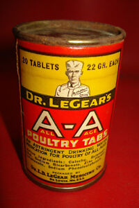 dr-legears-POULTRY-TABS-box-veterinary-medicine-country-store-ADVERTISING-UNUSED