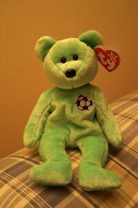 SOCCER Teddy Bear TY Beanie Babie