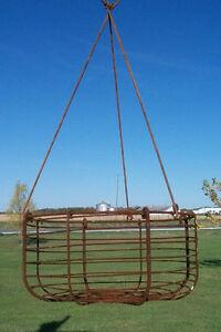 16-Sm-Wrought-Iron-Round-Garden-Hanging-Basket-Planter-4-Trailing-Flowers