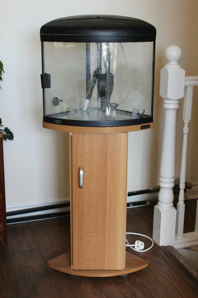 Used aquariums for sale for sale in radstock somerset for Corner fish tank for sale