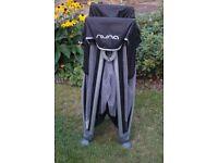 Nuna Sena Travel Cot with Bassinette Attachment, Travel Bag and Original Mattress
