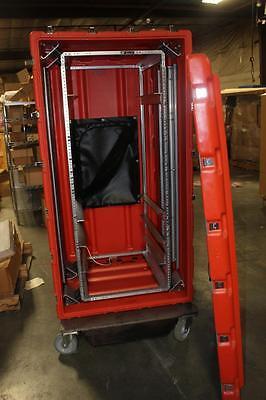 Large, Shockmount Hardigg (Pelican) Server Rack Transit Case DE2652-02/25/02-TSA