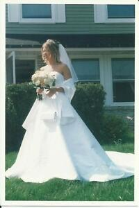 Beautiful Halter Wedding Gown for Sale - Size 6