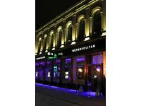 Metropolitan require Part Time Staff