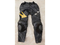 Hein Gericke Pro Sports Leather Motorcycle Trousers Size 52