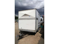 Custom built twin axle trailer - (box /enclosed/catering/sports/storage)
