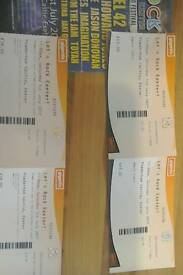 Two tickets plus two camping tickets