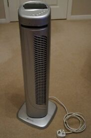 Pedestal Tower Fan with Remote Control