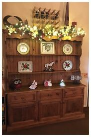 Large Solid Pine Kitchen Dresser by Cape Country Furniture